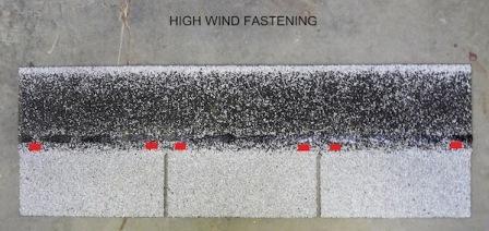 strip shingle high wind Asphalt Composition Shingle Fasteners