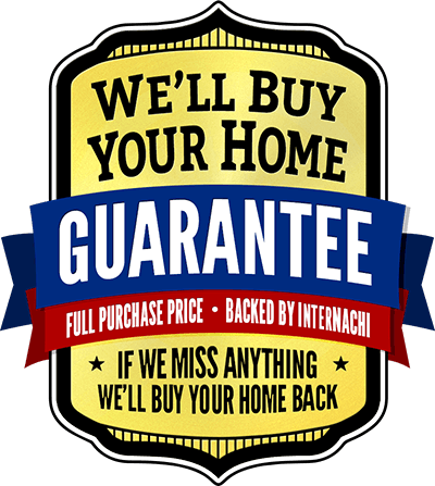 Hone Inspections include a Buy Back Guarantee, Backed by InterNACHI