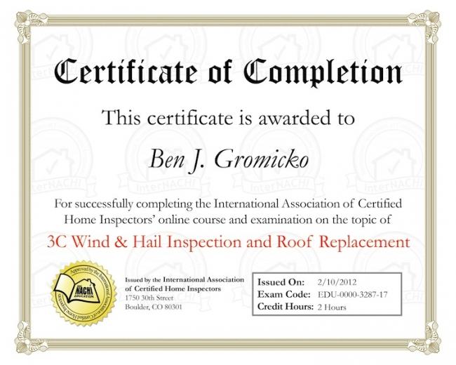 Roof Inspection Online Training Internachi