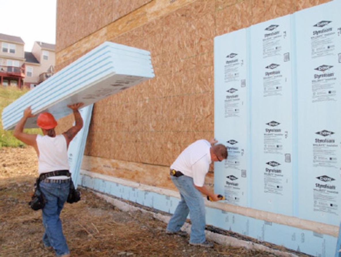 Foam Insulation Panels : Vapor diffusion retarder inspection internachi