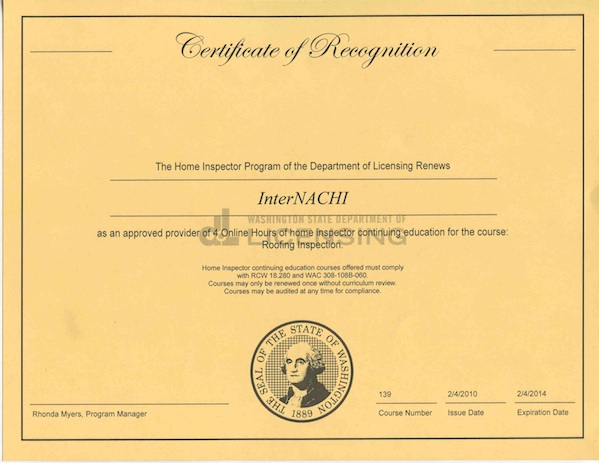 View course approval letter for best free home for Washington state approved house plans