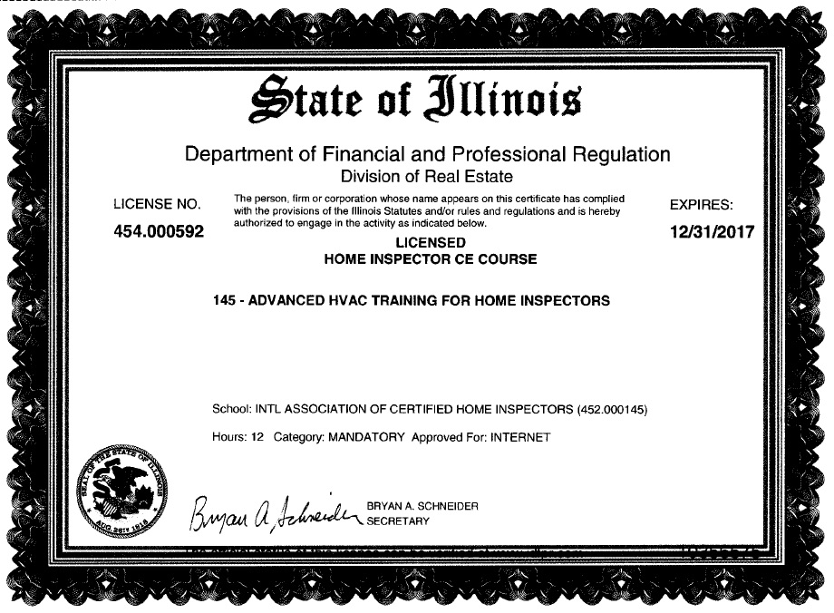 Free Illinois Continuing Education Courses for Home Inspectors: Step ...