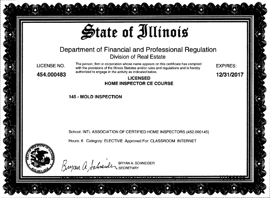 Free Illinois Continuing Education Courses For Home Inspectors Step