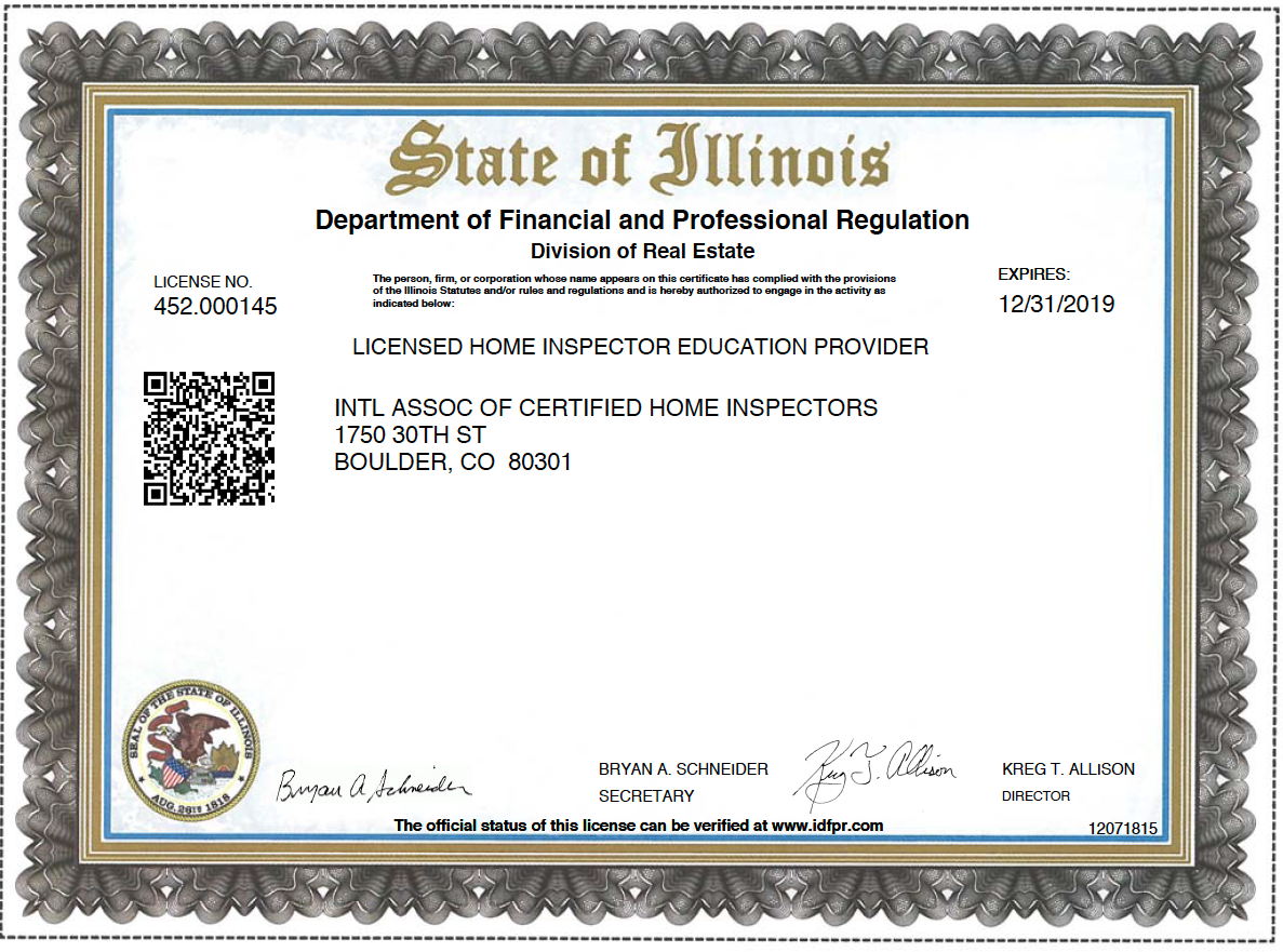How to Become a Certified Home Inspector in Illinois - InterNACHI