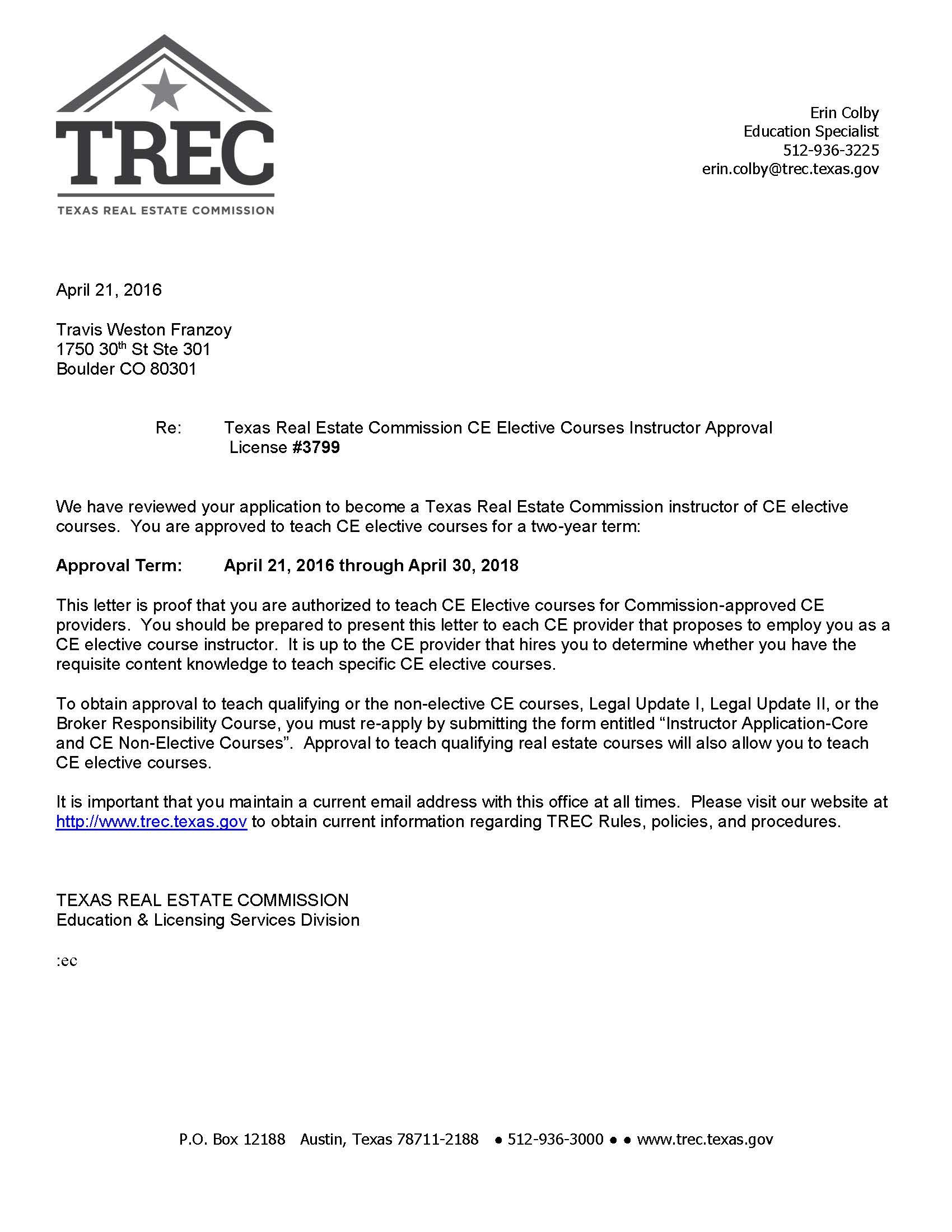 oklahoma real estate commission