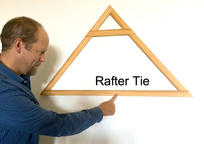 collar rafter tie