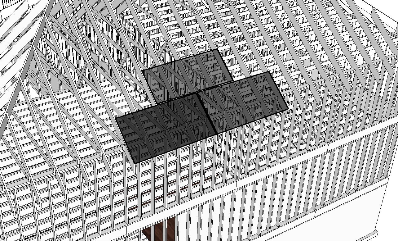 Inspecting Roof Panel Sheathing