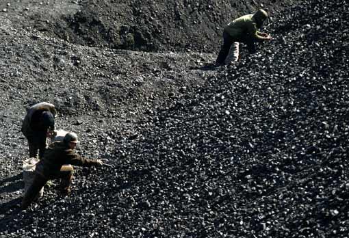 Le charbon Chinois