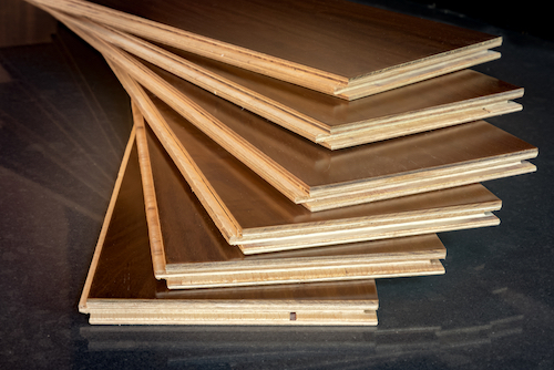 Engineered wood sheathing