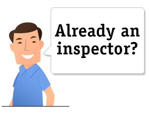 Already an inspector?