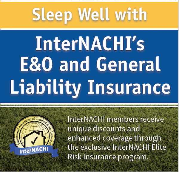 Home Inspector Insurance EO Insurance InterNACHI Stunning The General Free Quote