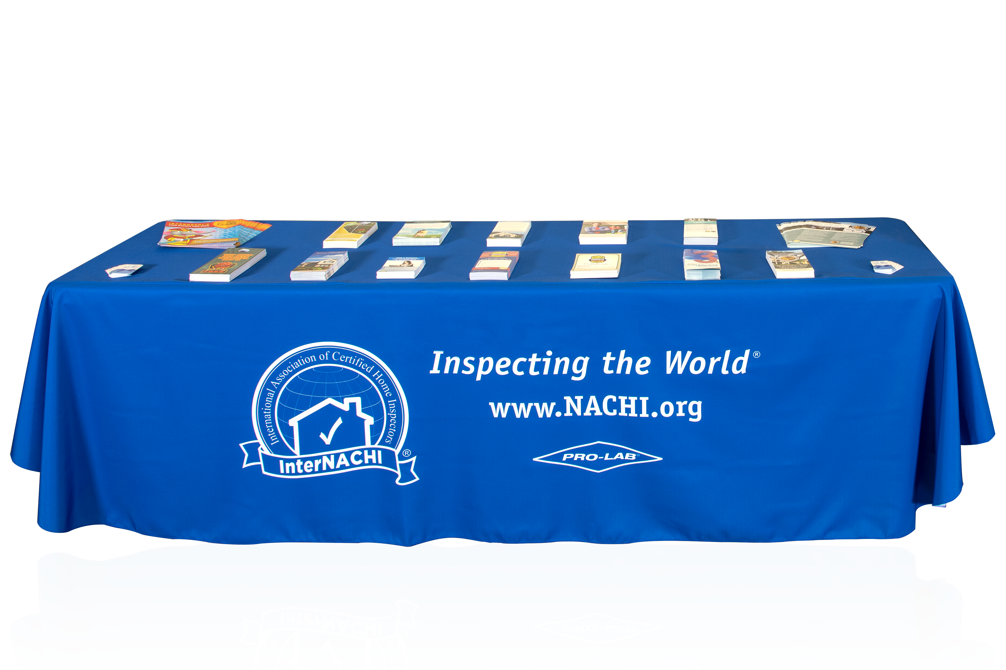 InterNACHI Trade Expo Tablecloths. Free To Members Who Have Booths At  REALTOR Events.